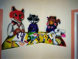 Craft Room Mural