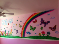 Kid's Room Mural