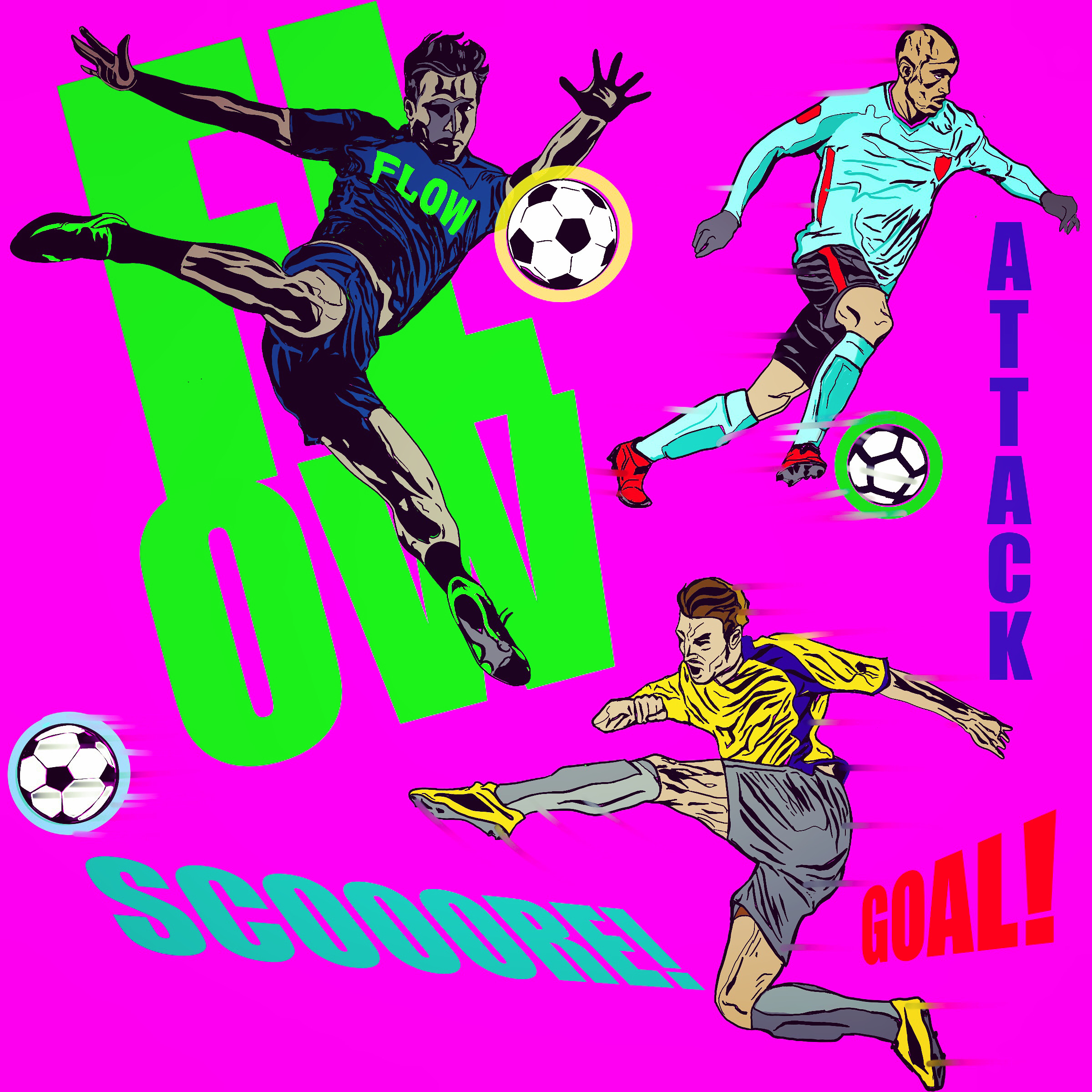 Apparel soccer design
