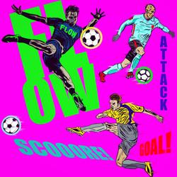 Apparel soccer design
