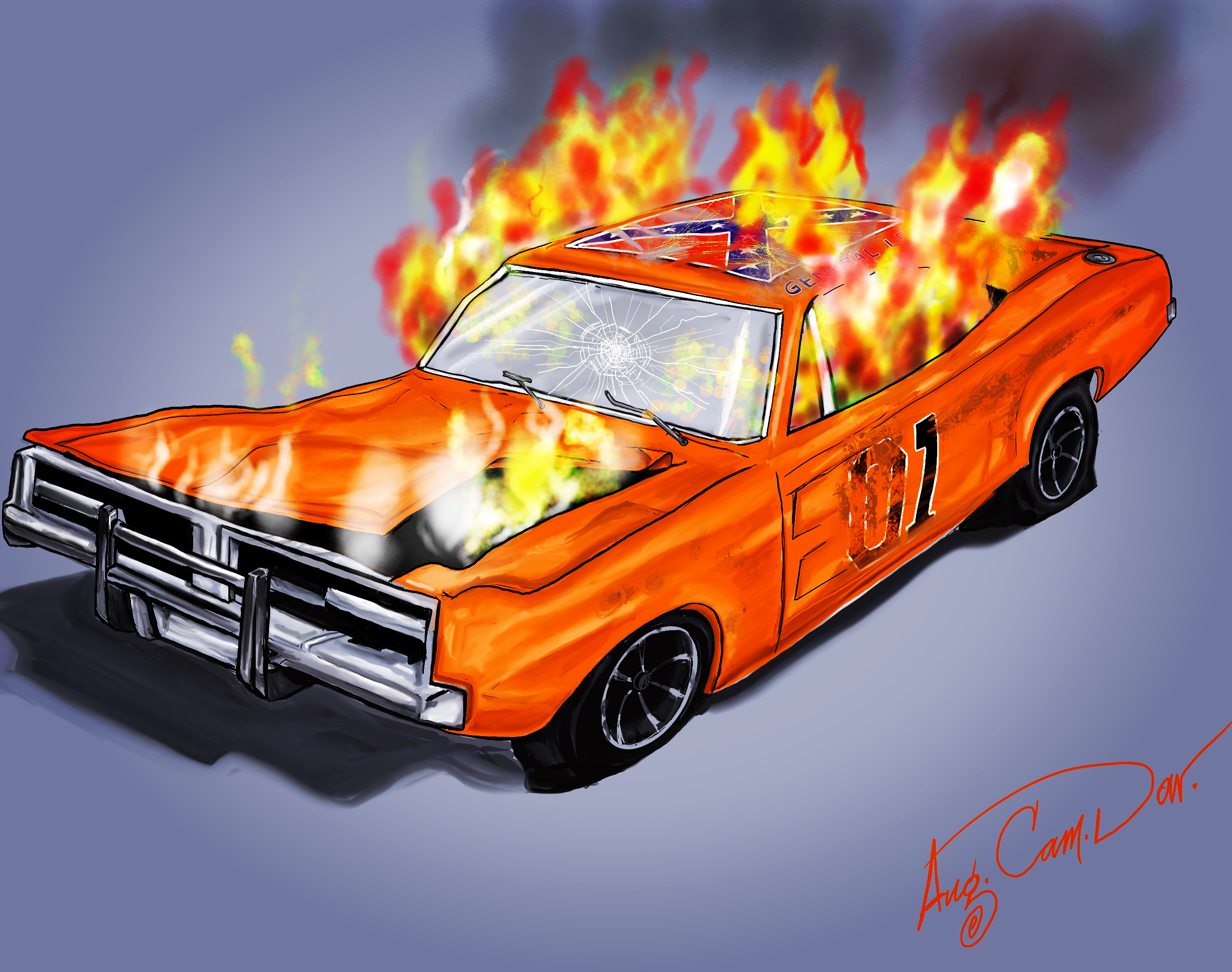 Riots Hit Hazzard Country