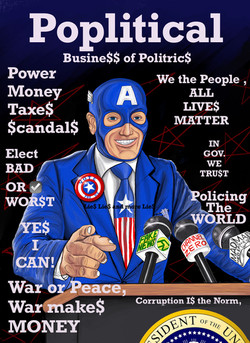 Poplitical (magazine cover