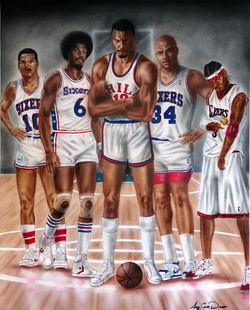 Sixers All Time 5