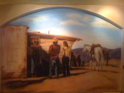 Western Mural - Restaurant