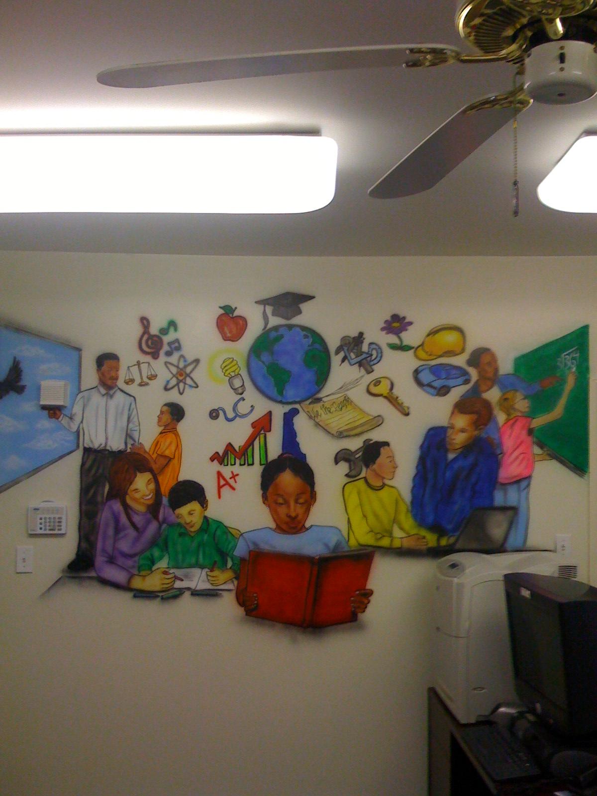 Education Center Mural