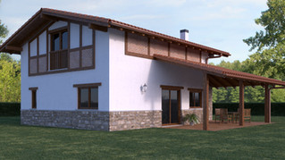 ¡Nuevo diseño! Casa modular de 2 plantas por 135.000 euros.