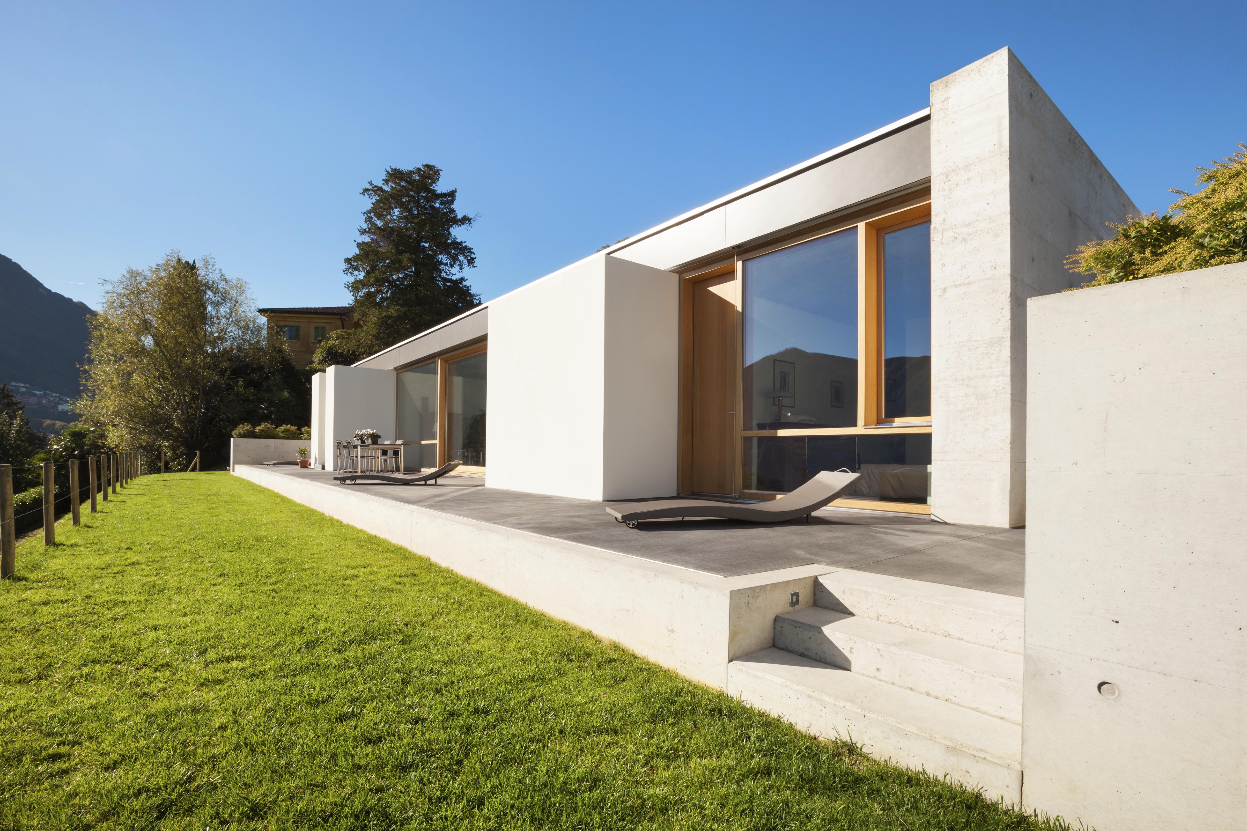 Casas prefabricadas. Diseño