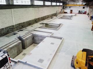 Finalizadas las obras de construccion de fosos en Aceros J.A. Ormazabal, en Amorebieta.