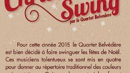 """""""Christmas Swing"""" - Quartet Belvédère"""