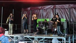 Old Chaps met le feu au festival de jazz de Chateauneuf du Faou !