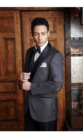 Steel Grey Shawl Tuxedo/Dinner Jacket