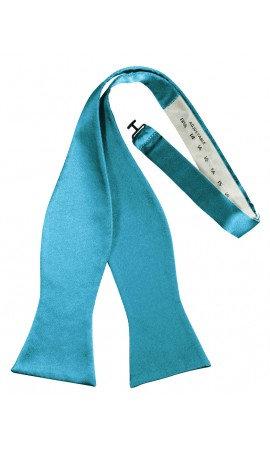 Poly Satin Self Tie Bow Tie