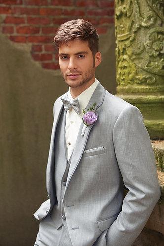 Grey Cardi Slim Fit Tuxedo