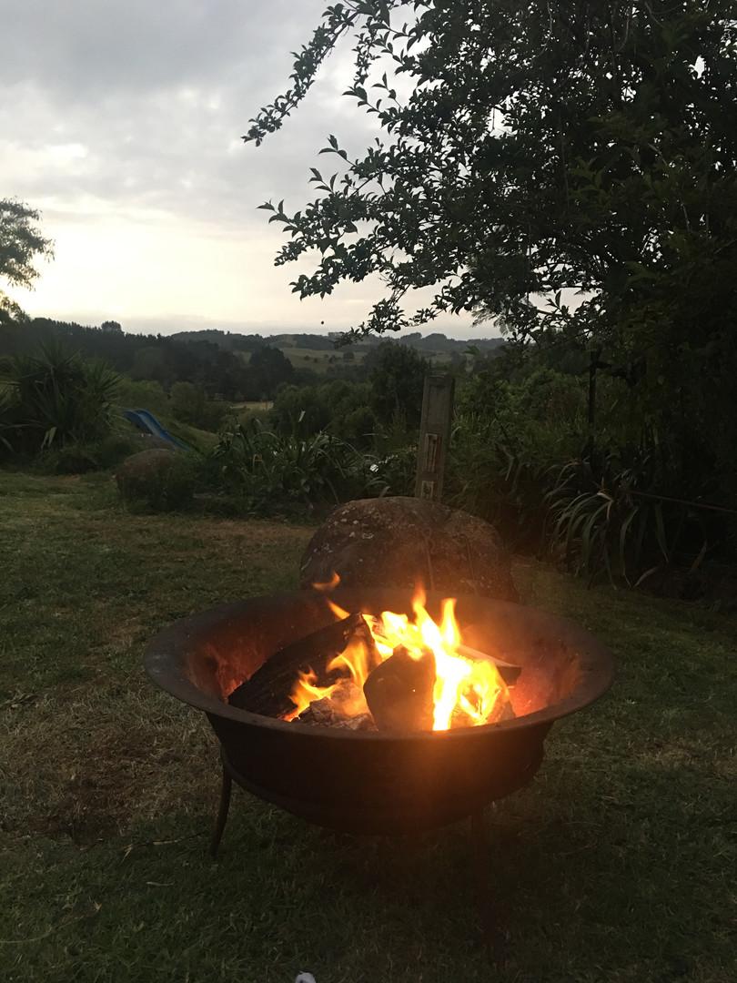 Firepit Ararimu Gardens