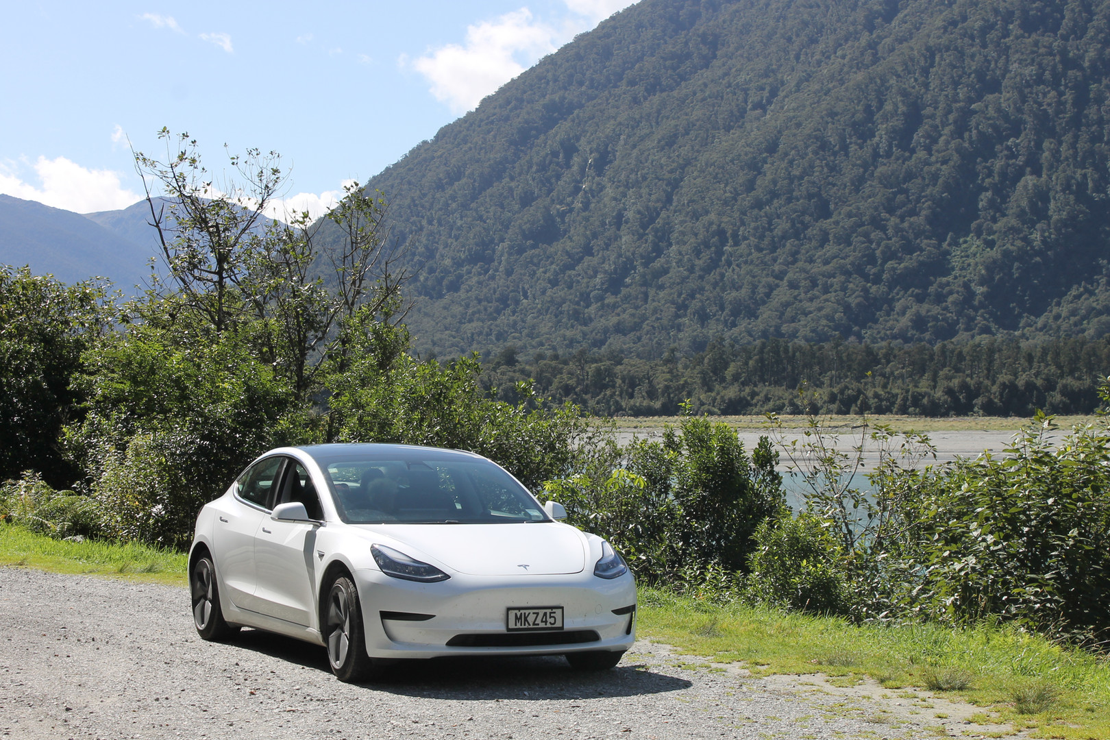 Telsa Model 3 in the wild