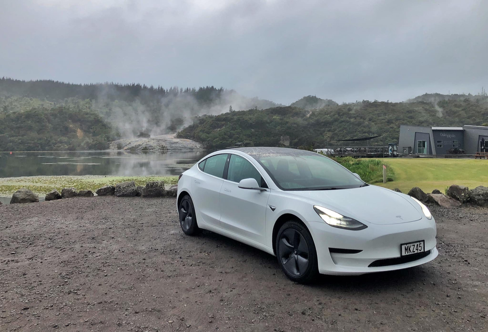 Tesla M3 for hire