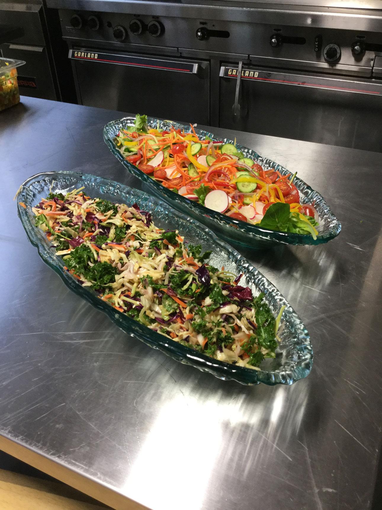 Salad-Spring-greens