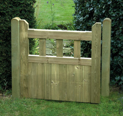 Garden fence gate fencing services