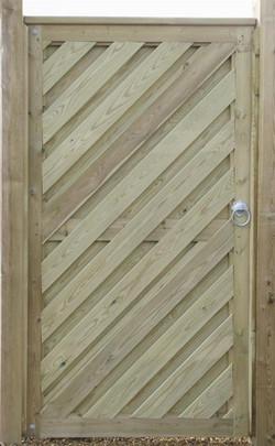 Garden fence gates fencing services