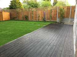 Landscaped garden design