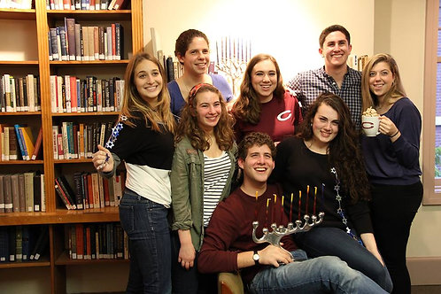 Chanukah Party on Campus