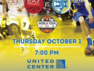 Maccabi TLV vs. Armani Milano @ The United Center