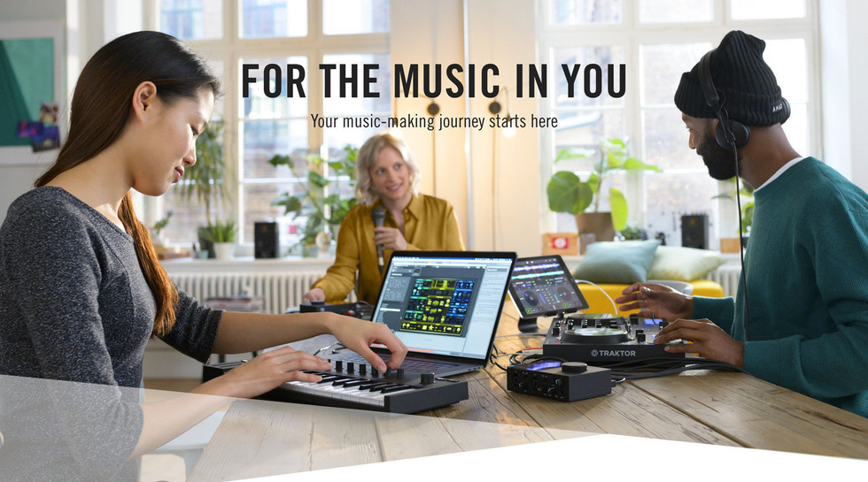 Native Instruments - For The Music In Yo
