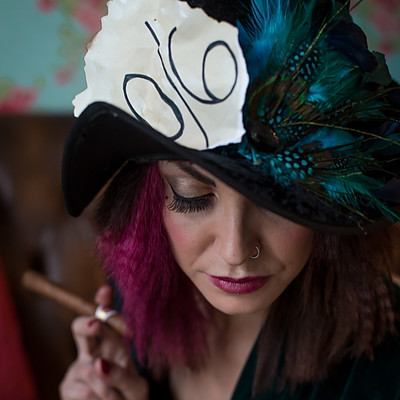Mad Hatter Styled Shoot