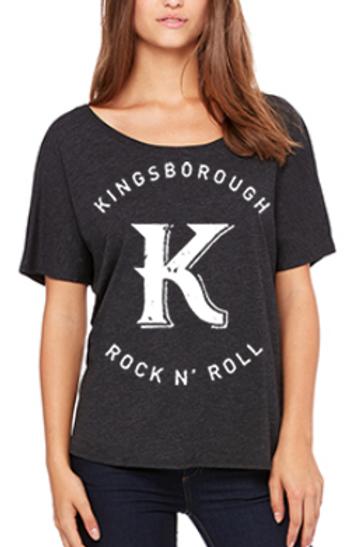 Slouchy women's big k t-shirt