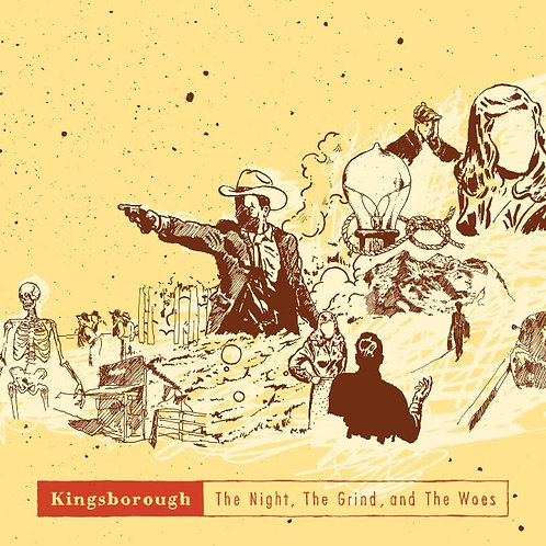 "kingsborough ""the night, the grind, and the woes"" cd"