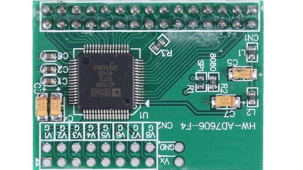 Módulo de adquisición de datos AD7606