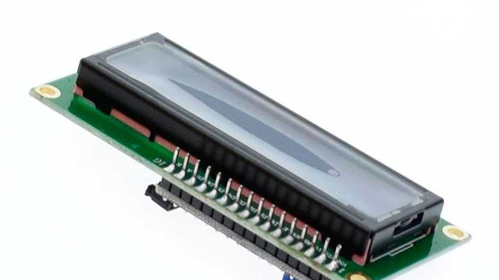 DISPLAY LCD 1602 I2C