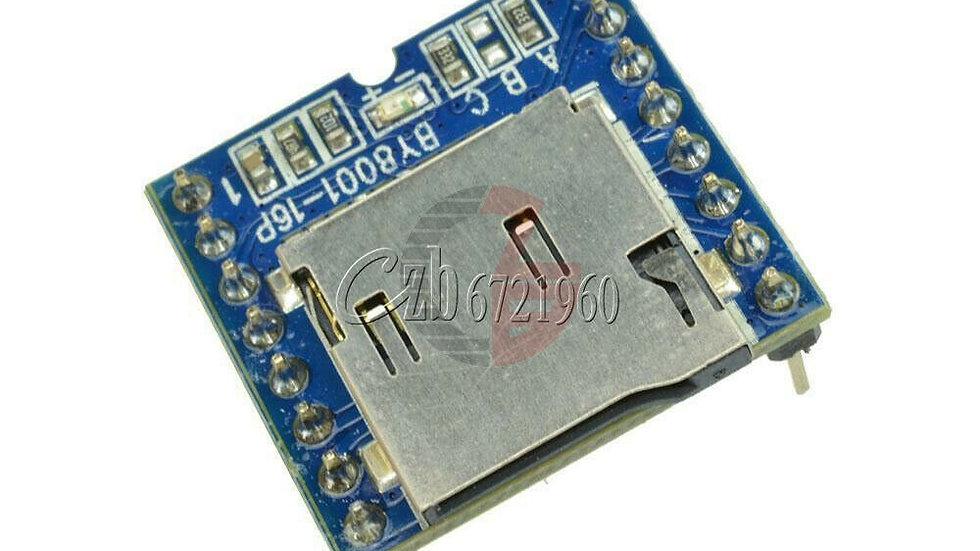 Reproductor de MP3 TF Micro SD U-Disk BY8001-16P