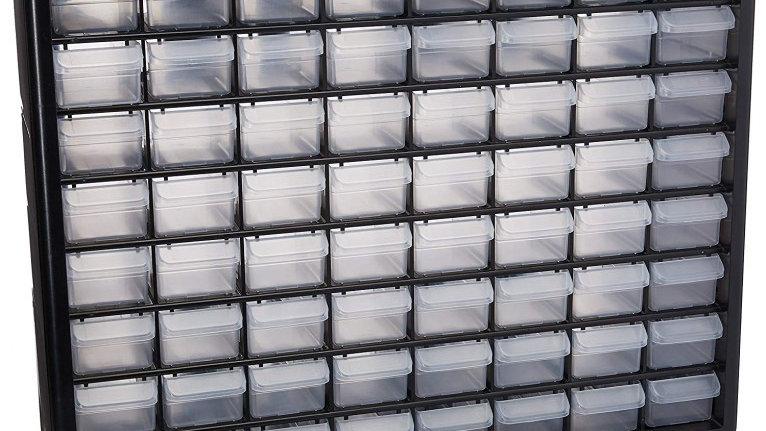 Truper - Organizador con 64 compartimentos