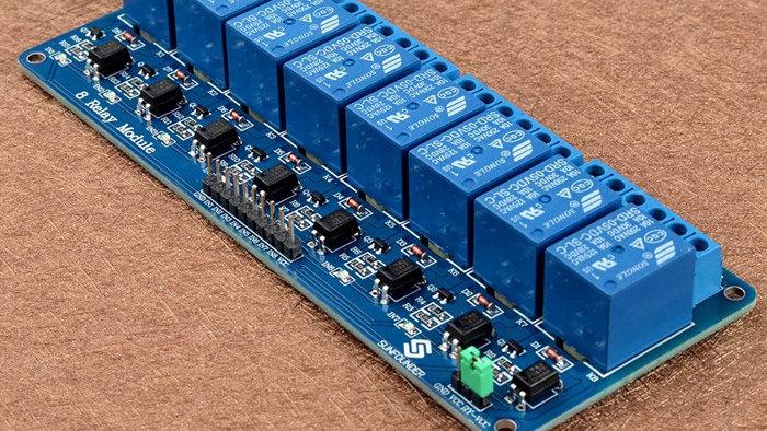 MODULO RELE  8CH 5VDC