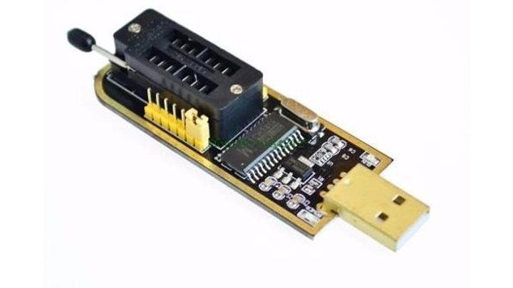 PROGRAMADOR USB PARA MEMORIAS EEPROM, SPI 24 Y 25.