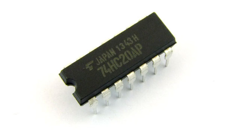 74HC20