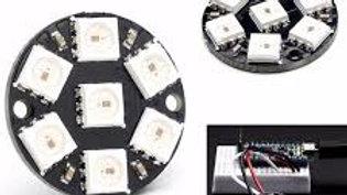 DISCO LED CON WS2812 5050 RGB DIRECCIONABLES.