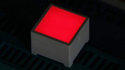 LED Cuadro - Rojo 10mm y 15mm