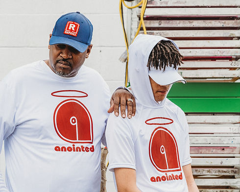 Anointed Tee lifestyle shot