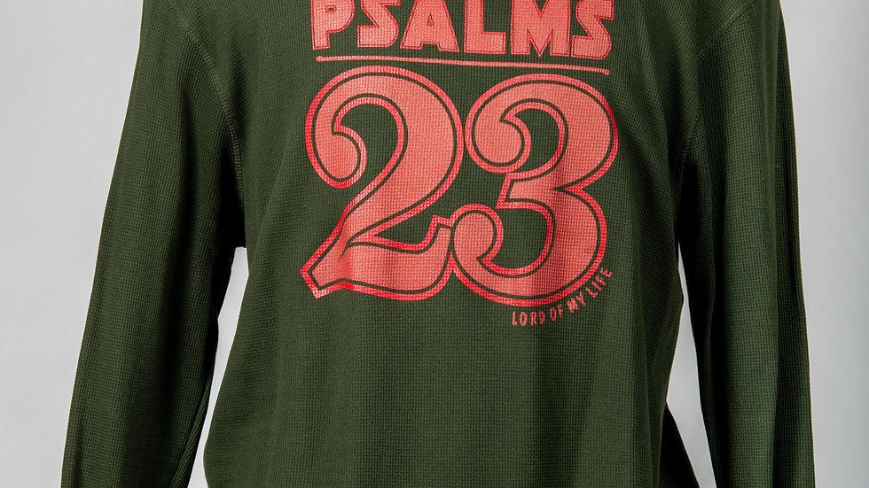 Psalms 23 athletic long sleeve