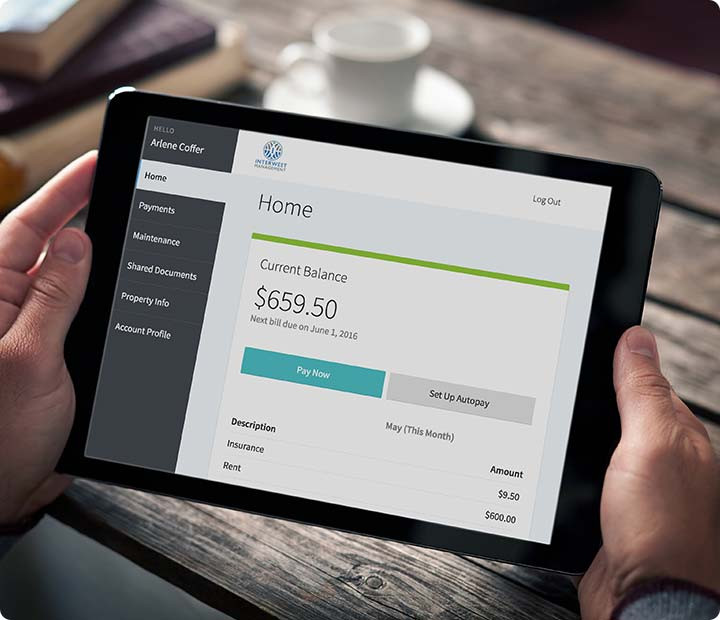 Online Rental Pay System