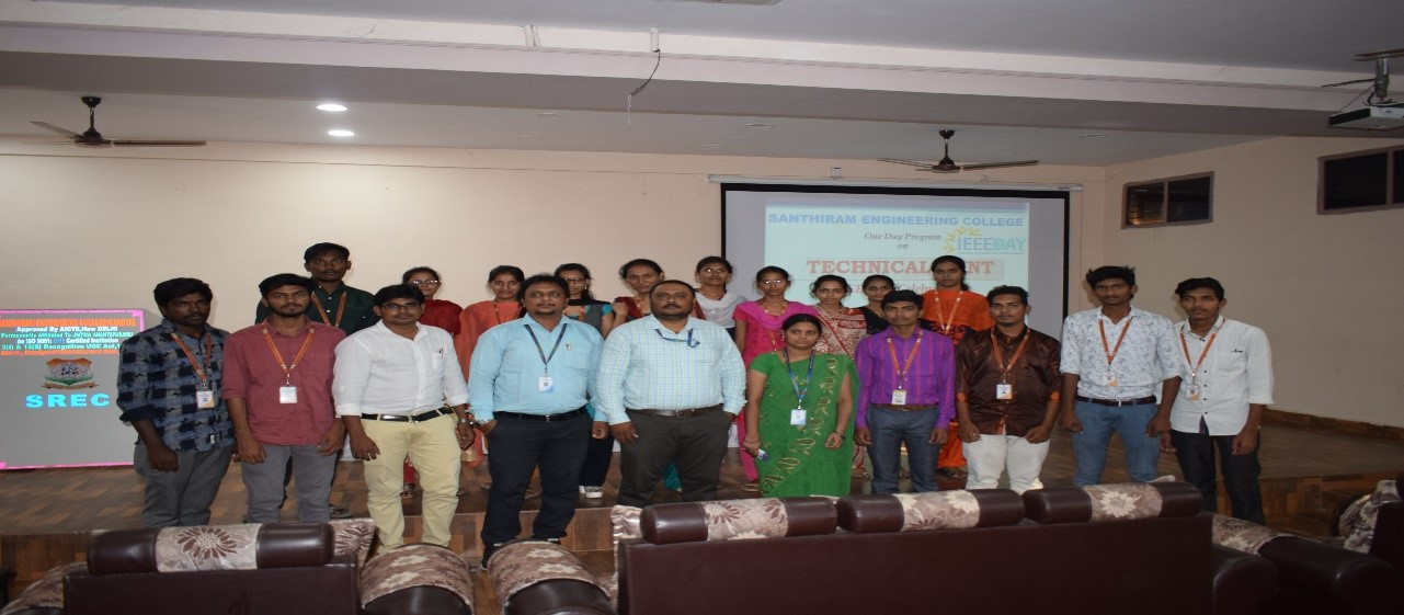 2. One day seminar on IEEE- Day on 09-10