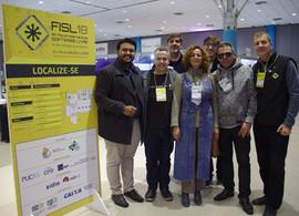 CRC-INAC no FISL18 em Porto Alegre!