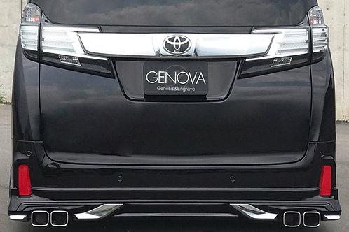 GENOVA 30系アルファード&ヴェルファイア用リアハーフスポイラー