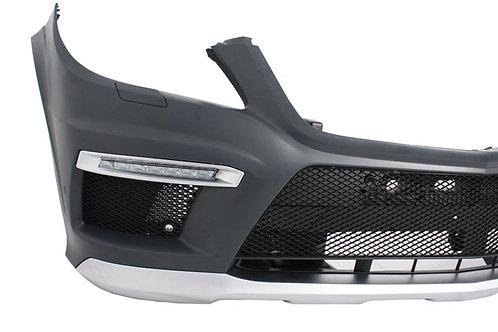 純正品 X166 GLクラス AMG フロントバンパー+ラジエターグリル