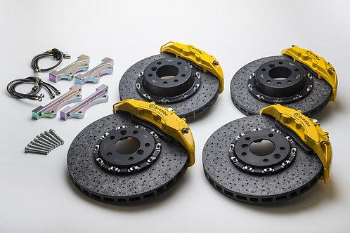 オーダーメイドBREMBO製カーボンセラミックFRONT &REAR brake system