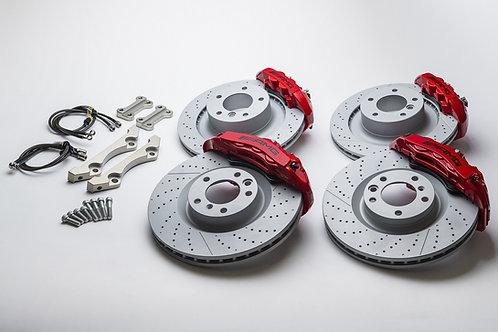 BELFE DESIGN AMG 純正FRONT &REAR brake system W463