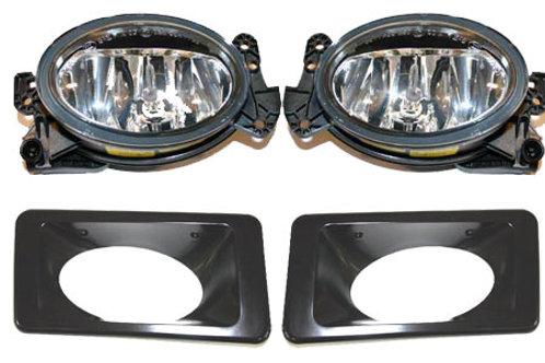 純正品 W463 Gクラス フォグランプ&フォグランプカバー 左右セット