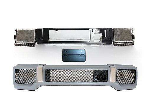 純正品 W463 Gクラス AMG G63 左ハンドル車用フロントバンパーコンバージョンキット日本仕様ナンバー台付